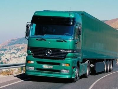 Бортовой грузовик MERSEDES ACTROS 20т