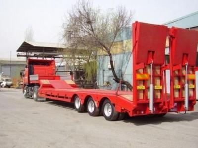 Низкорамная платформа 40 тонн
