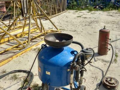 Аппарат для пескоструйной обработки